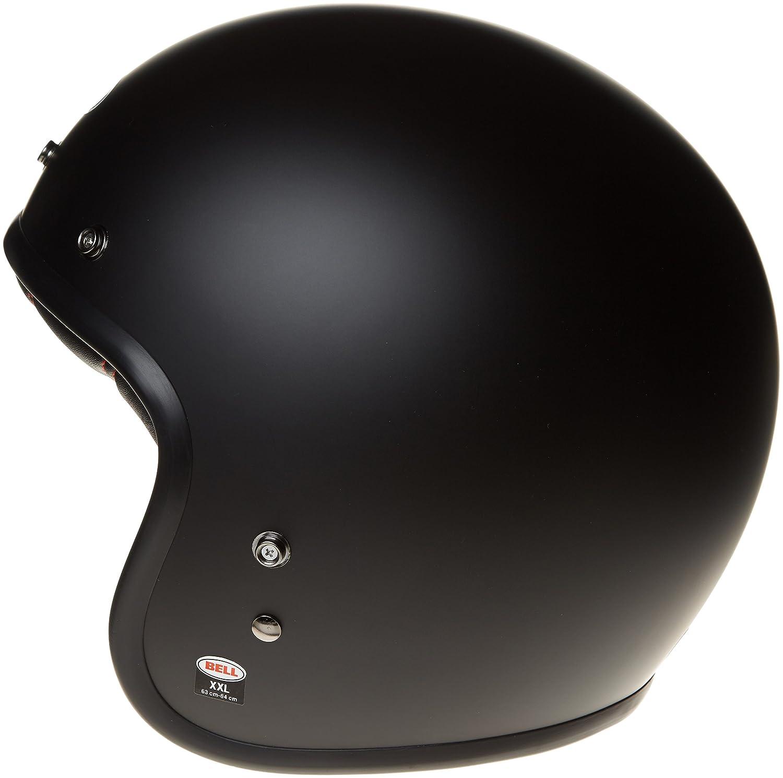 Helmet bell custom 500 dlx solid black matt m