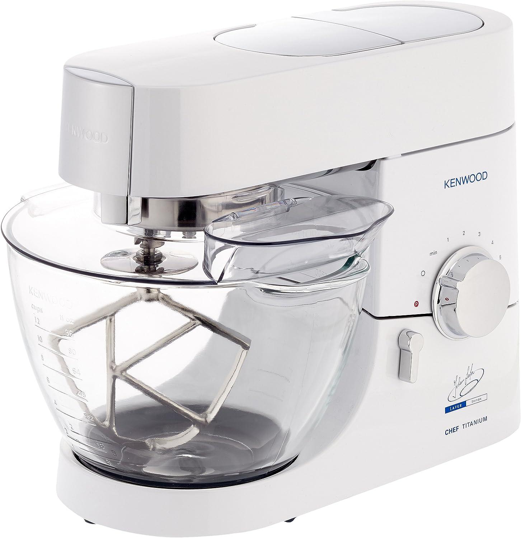 Kenwood KMC014 - Robots de cocina, 1400 W, color blanco: Amazon.es: Hogar