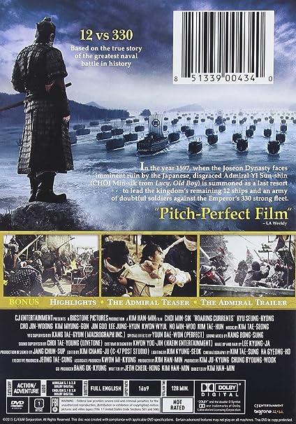 Admiral: Roaring Currents Edizione: Stati Uniti Italia DVD ...