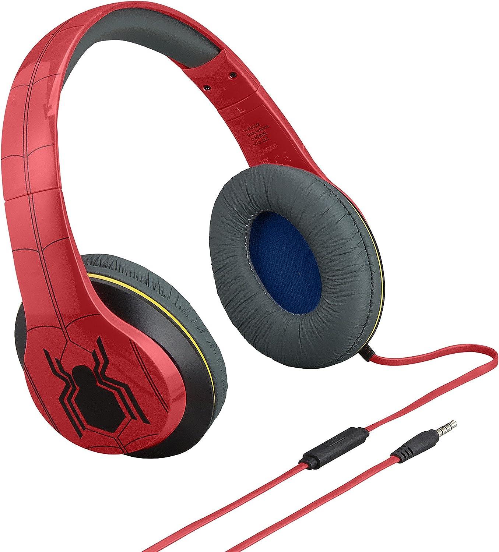 Ekids Marvel Spiderman über Ohr Kopfhörer Mit Elektronik