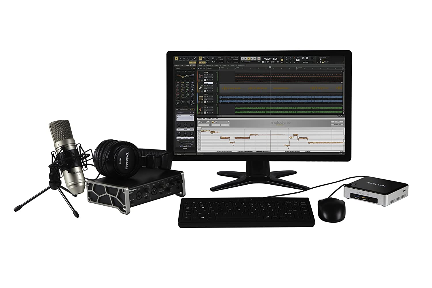 Tascam Trackpack 2x2 Recording Package USB 2 With Software