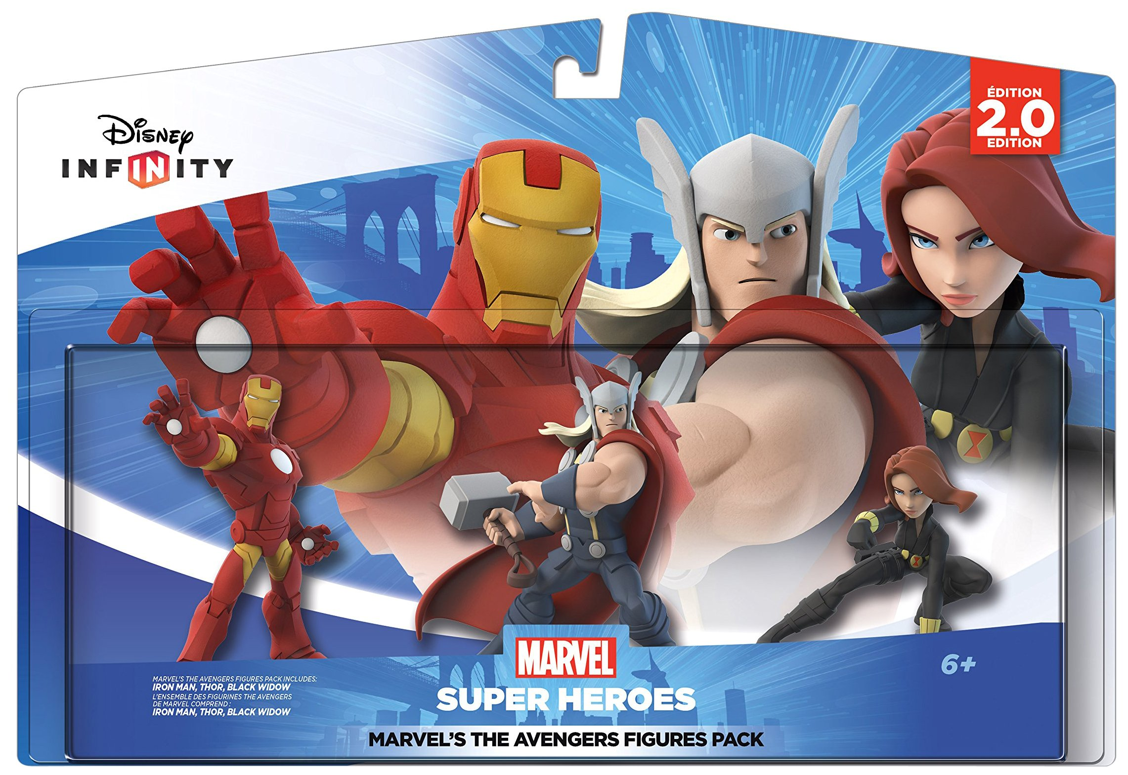 Disney Infinity: Marvel Super Heroes (2.0 Edition) MARVEL'S The Avengers Figure Pack - Not Machine Specific by Disney Infinity (Image #1)