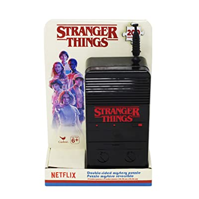 Stranger Things 200Piece Double-Sided Surprise Puzzle: Toys & Games