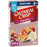 Oatmeal Crisp Triple Berry Cereal Family Size, 570 Grams