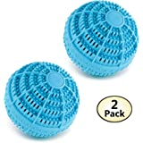 Green Clean Eco Washer Balls - Environmentally Friendly Laundry Detergent Alternative, 2 Pack