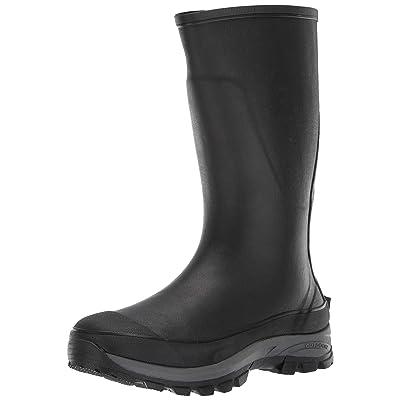 Western Chief Men Tall Premium Rubber Rain Boot, Black, 14 M US | Rain