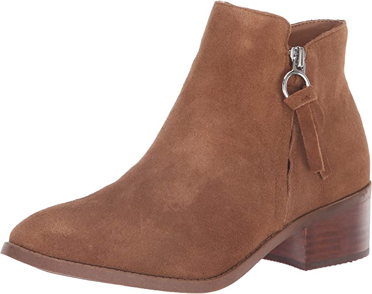 31dc8ad486c Amazon.com  Steve Madden Women s Dacey Ankle Boot Cognac Suede 6 M ...