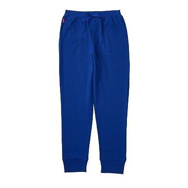 RALPH LAUREN Polo Big Girls' Size 7-16 Cotton French Terry Jogger Fleece  Pants
