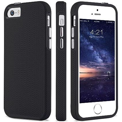Amazon.com: BENTOBEN Funda para iPhone 5s protector doble a ...