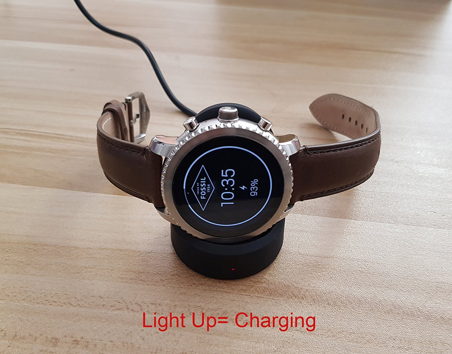 Ceston Sans Fil Chargeur De Station Pour Fossil Q Explorist (Noir): Amazon.fr: High-tech