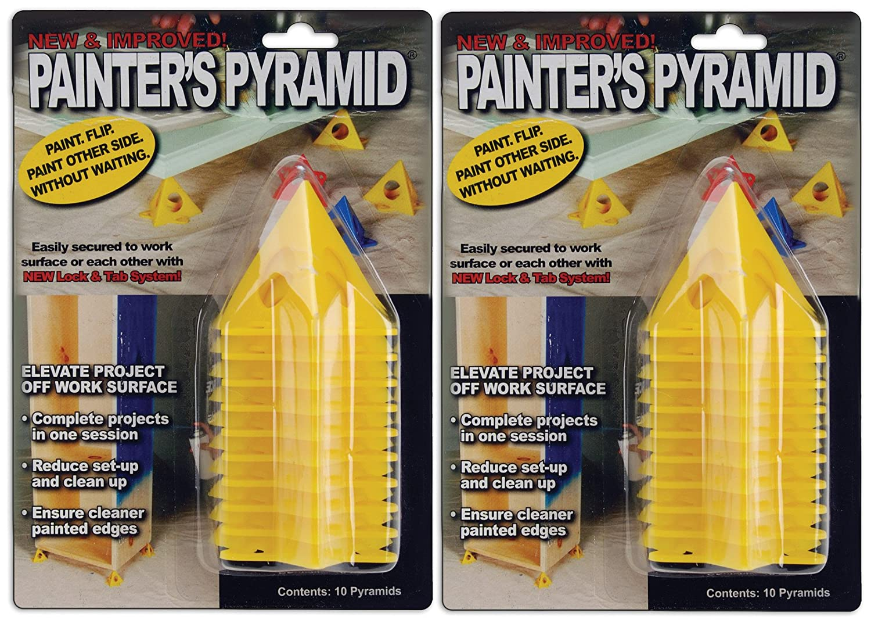 Amazon.com: Painter\'s Pyramid Stands, Yellow (KM1257)