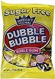 Dubble Bubble Sugar Free, 3.25-Ounce Bags