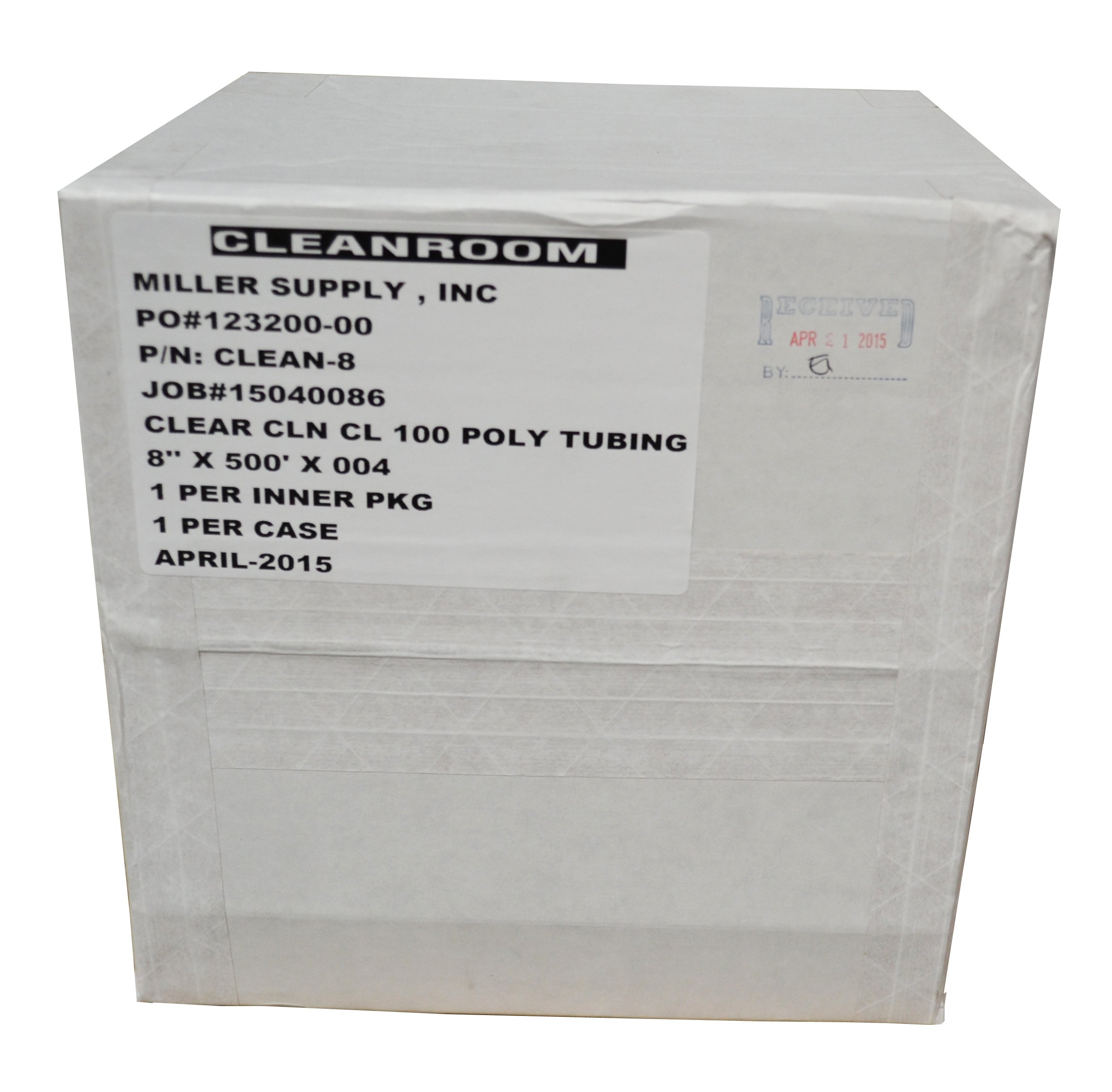 10'' Large Latex Gloves, Powder Free, Ambidextrous, Cleanroom Processed and Bagged (100/Bag; 10 Bags/Case) - AC-XC1001-L