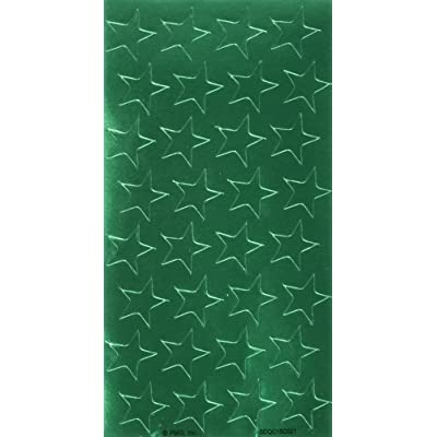 Eureka Back to School Classroom Supplies, Presto-Stick Green Star Stickers, 1/2\'\', 250 pcs: Office Products [5Bkhe0503170]