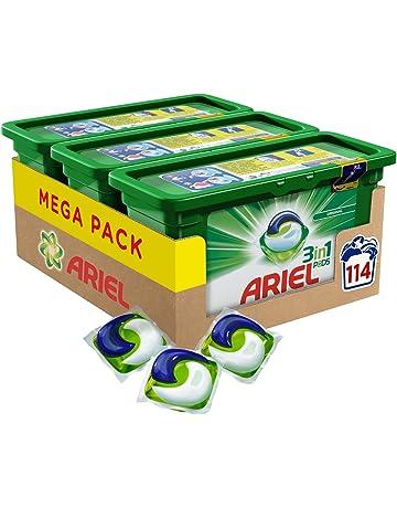 Ariel 3en1 PODS Original Detergente En Cápsulas Superconcentrado: Limpia, Quita Manchas, Ilumina En