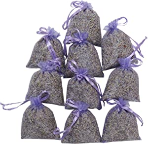RakrisaSupplies Purple Bags Pack of 15   Natural Deodorizer and Highest Fragrance Lavender Scent Sachets   LS-001