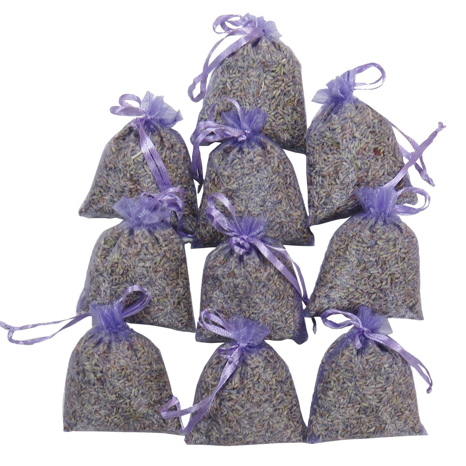 RakrisaSupplies Purple Bags Pack of 15 | Natural Deodorizer, Moth Repellent, Highest Fragrance Lavender Scent Sachets | LS-001 by RakrisaSupplies