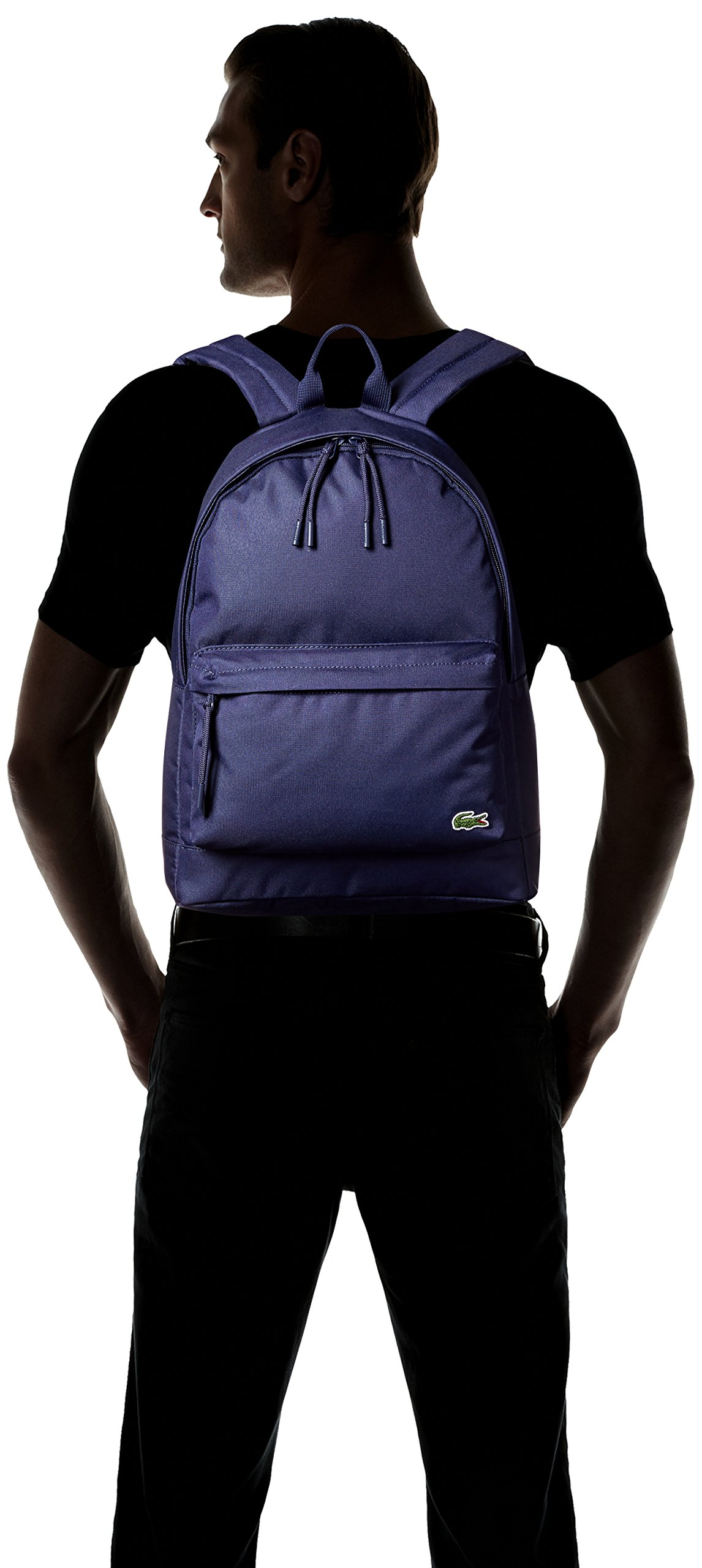 Lacoste Men's Neocroc Backpack, Peacoat by Lacoste (Image #4)