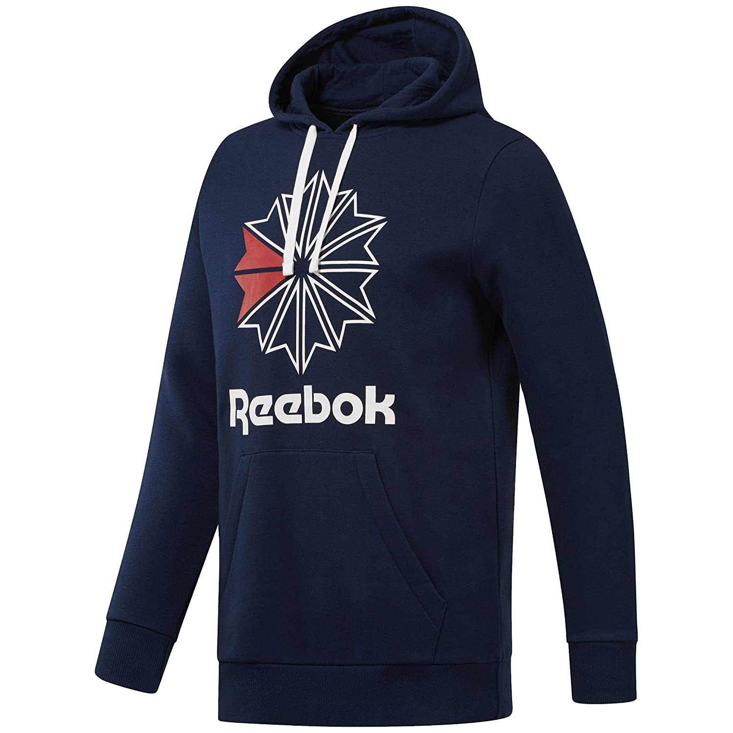 Reebok Mens Starcrest Hoody Hoodies