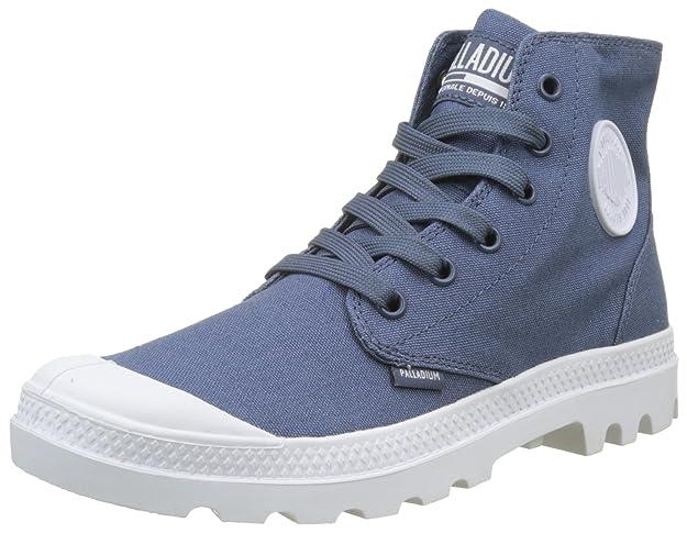Palladium Unisex-Erwachsene Pampa Hi Blanc Hohe Sneaker, grau