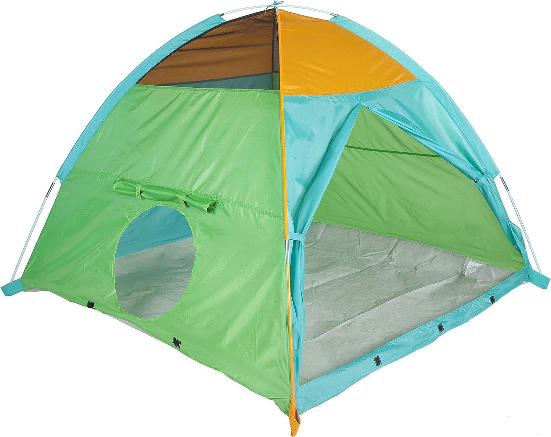 "Pacific Play Tents 41205 Kids Super Duper 4-Kid II Dome Tent Playhouse, 58"" x 58"" x 46"""
