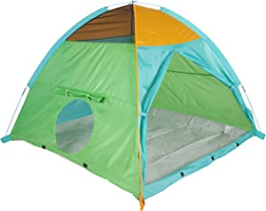 "Pacific Play Tents 41205 Kids Super Duper 4-Kid II Dome Tent Playhouse, 58"" x 58"" x 46"""