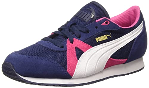 Puma TfRacer Mesh Unisex Adults Training Running Shoes Multicolour  Peacoat