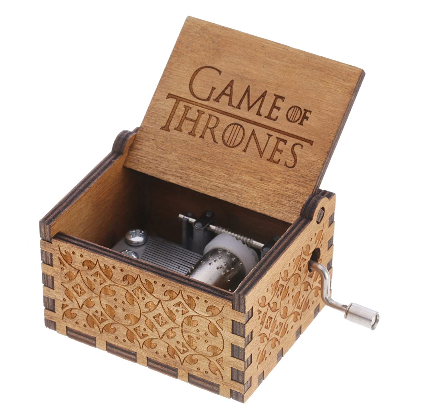 早割クーポン! REINDEAR of Game of Thrones Thrones Theme木製音楽ボックス B07DVCSWZJ Game ウッド, KICHI-KICHE:192cf0a1 --- arcego.dominiotemporario.com