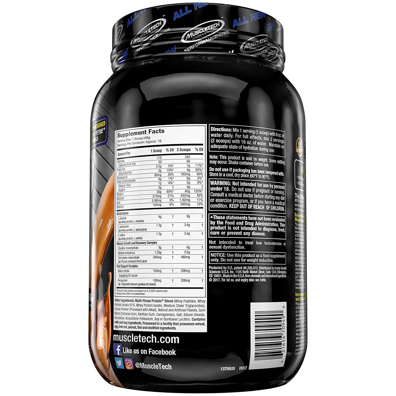 Muscletech Performance Series Nitro-Tech Power Triple Chocolate Supreme - 893 gr: Amazon.es: Salud y cuidado personal