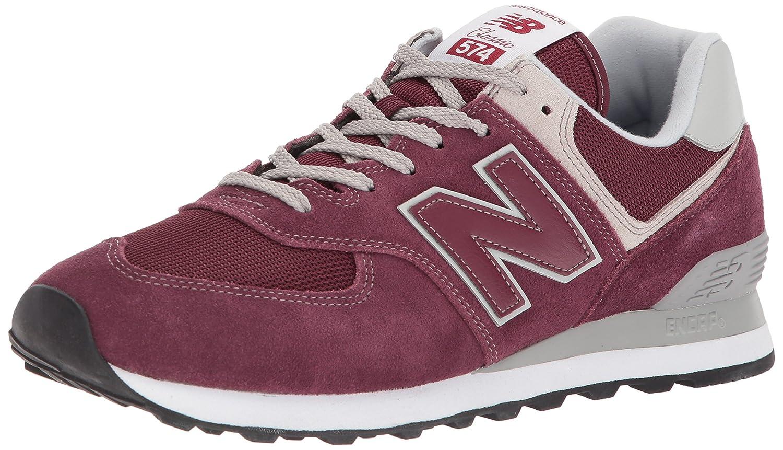 243c128b48 New Balance Ml574, scarpe da ginnastica Uomo Rosso (Burgundy) | prezzo di  sconto