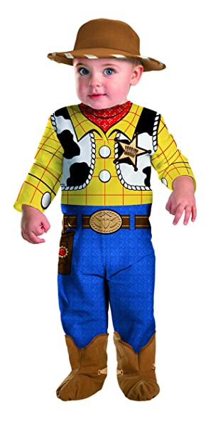 Toy Story Woody Infant Costume 0-6 months  sc 1 st  Amazon.com & Amazon.com: Disney Disguise Baby Boyu0027s Pixar Toy Story and Beyond ...