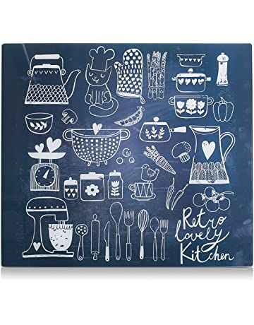 Zeller 26309 Placa de Panel de Cocina, 56x50x3 cm
