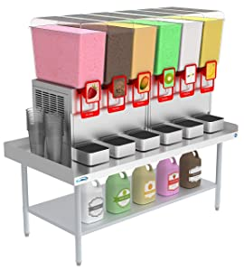 KoolMore 16 Gauge Stainless Steel Commercial Equipment Stand - 30 x 60 Heavy Duty Griddle Stand with Undershelf (EQT-163060)