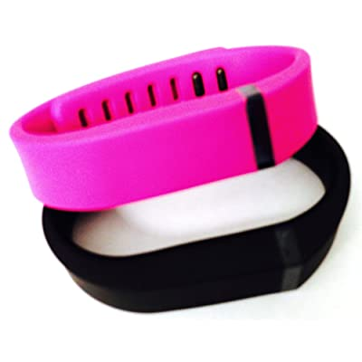 ! Small S 1pc Black 1pc Purple / Pink Replacement Bands + 1pc Free Small Grey Band With Clasp for Fitbit FLEX Only /No tracker/ Wireless Activity Bracelet Sport Wristband Fit Bit Flex Bracelet Sport Arm Band Armband