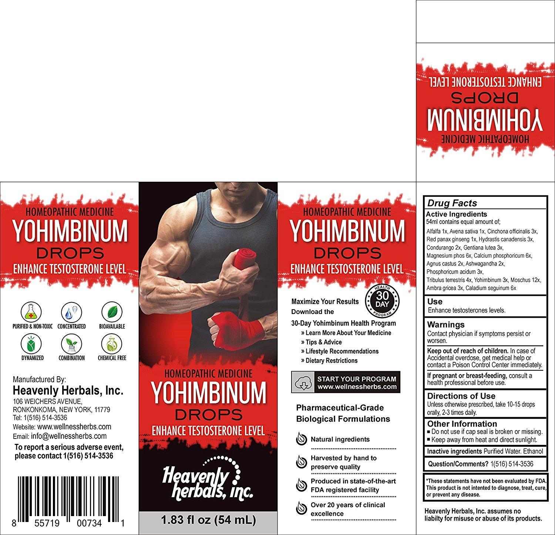 Yohimbinum home o medicine for sexual health