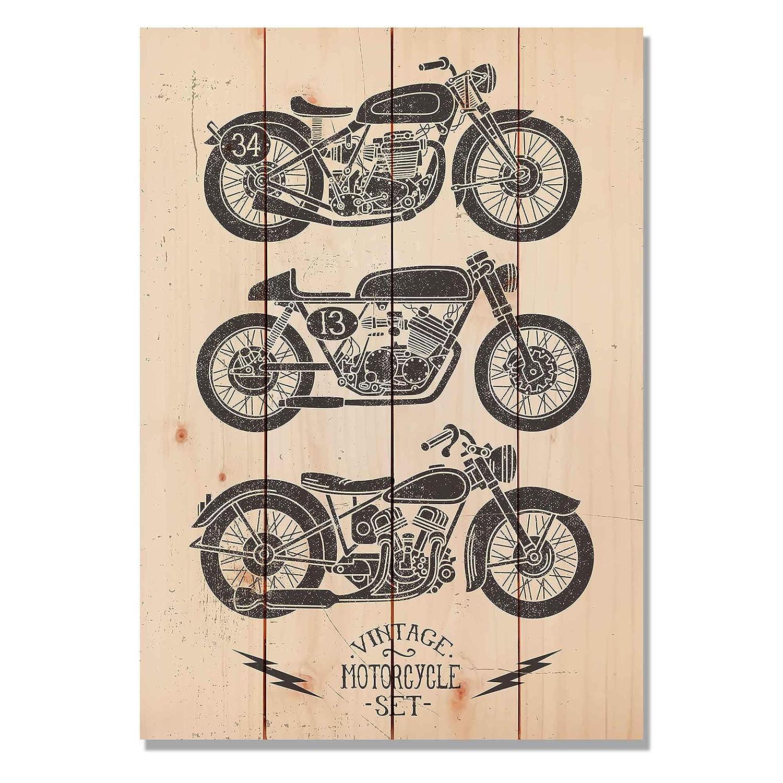 Amazon.com: gizaun Arte clásico motocicleta Interior ...