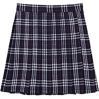 IEFIEL Falda Plisada Basico Mujer Mini Falda Vuelo Escolar Falda Casual Corta Colegiala Japonesa Falda Escocesa Cintura…