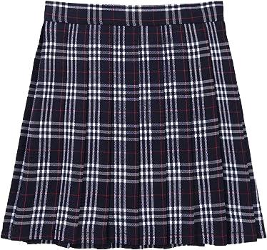 TiaoBug Falda Escocesa Plisada para Mujer Uniforme Escolar Colegio ...