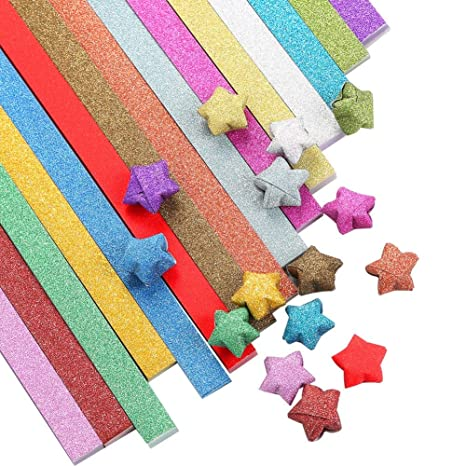 Origami Star Paper Noctilucence Star 90 sheets