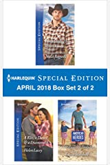 Harlequin Special Edition April 2018 Box Set 2 of 2: Her Man on Three Rivers Ranch\A Kiss, a Dance & a Diamond\Soldier, Handyman, Family Man (Men of the West) Kindle Edition