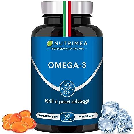 aumento di peso di olio di pesce omega 3