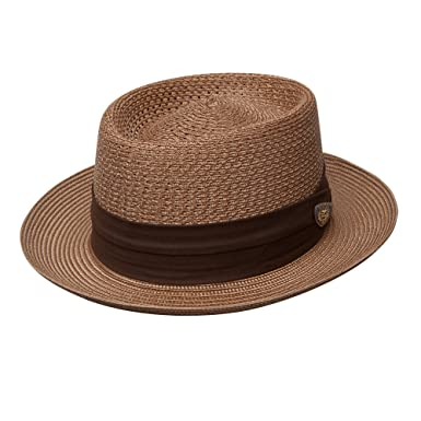 810f36c01ae5f Dobbs Bishop Milan Straw Hat at Amazon Men s Clothing store