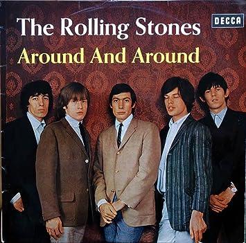 Bildergebnis für fotos vom lp cover around and around rolling stones