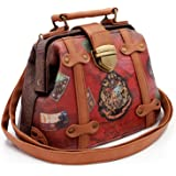 Harry Potter Railway Sac bandoulière, 20 cm, Marron (Marrón)