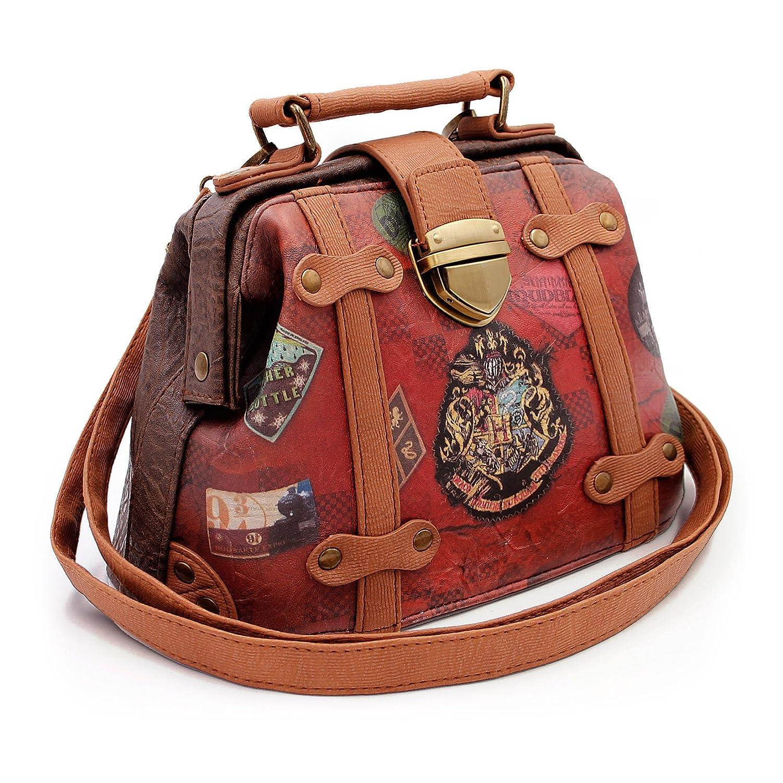 Karactermania Harry Potter Railway-Doctor Shoulder Messenger Bag, 20 cm, Brown 36644
