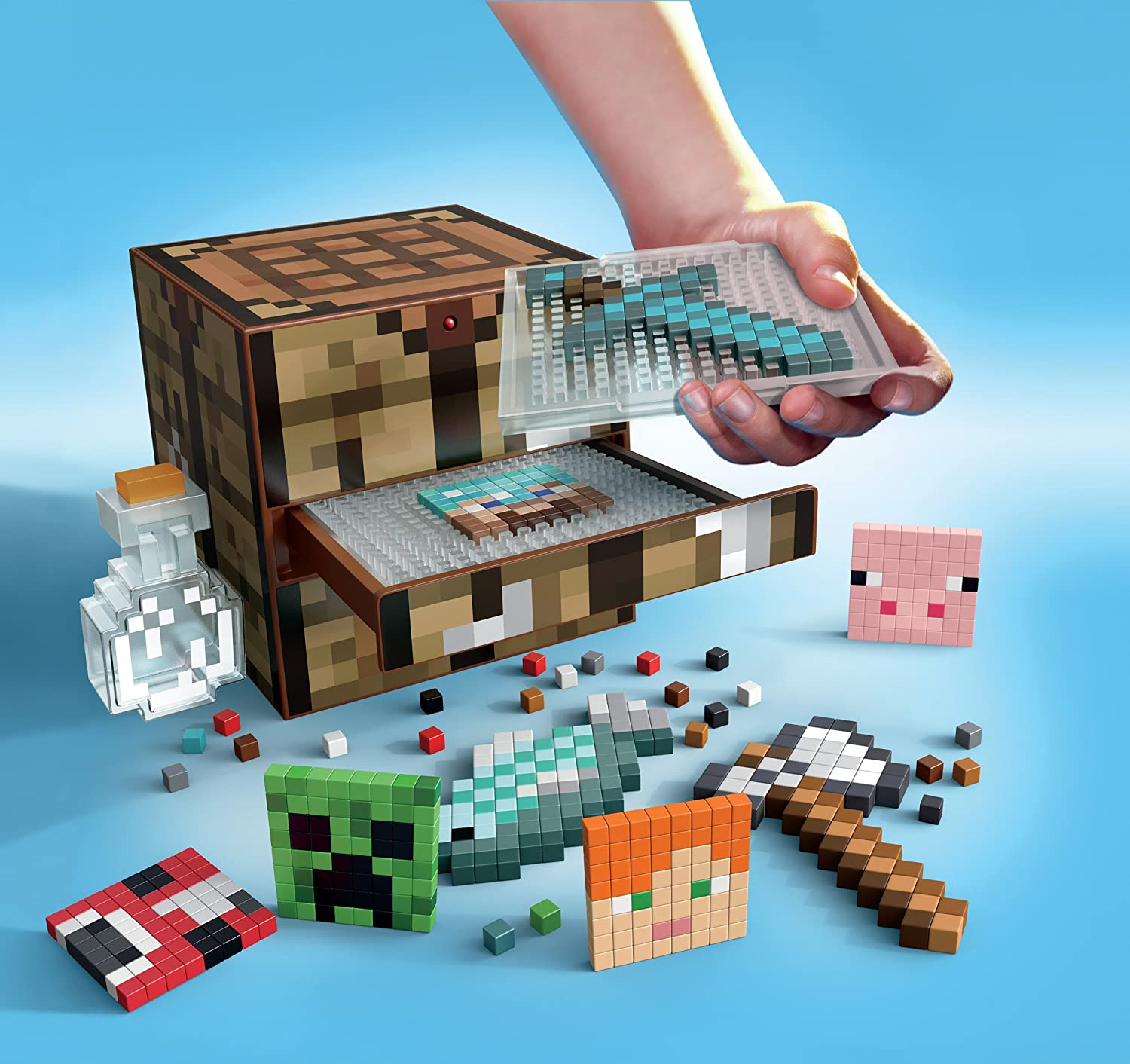 Amazon minecraft crafting table toys games gamestrikefo Gallery