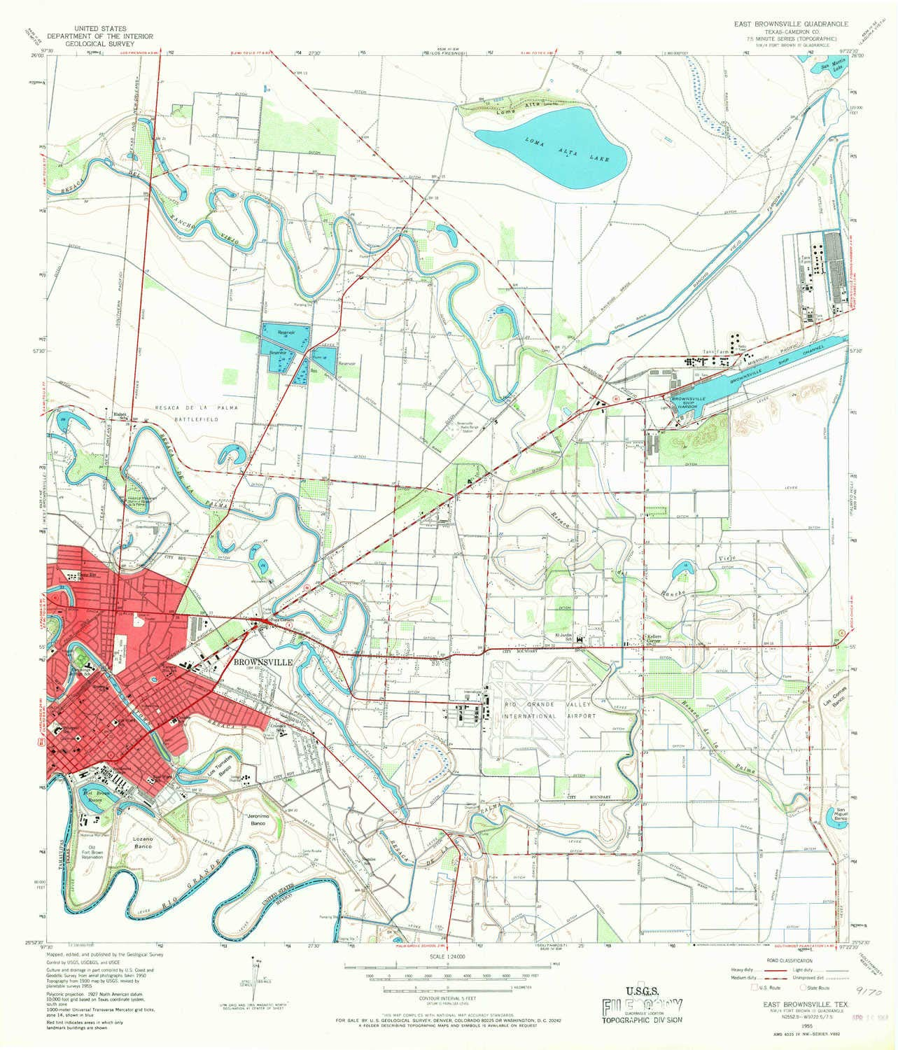 Amazon.com : YellowMaps East Brownsville TX topo map, 1 ...