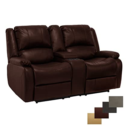 Exceptionnel RecPro Charles Collection | 67u0026quot; Double Recliner RV Sofa U0026 Console | RV  Zero Wall