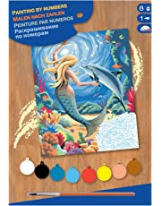 KSG - Masterpiece Junior Paint by Number Mermaid