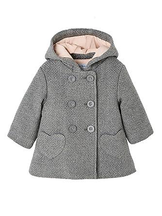 VERTBAUDET Abrigo para bebé niña de paño de Lana: Amazon.es: Ropa y accesorios
